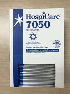 Hospicare antibacterial wipe