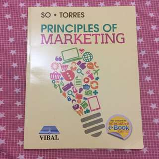 So + Torres Principles of Marketing