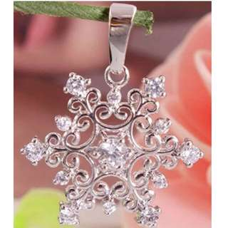 New Fashion 1Pc 925 Sterling Silver Cubic Zirconia Nice