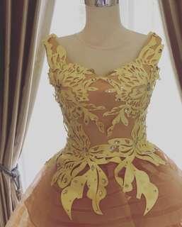 Dress yellow mini dress long dress party dress