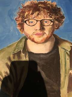 Ed sheeran painting