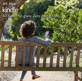 ✔Amazon Kindle 8th Gen +Free Ebooks/Pouch/Screen Protector