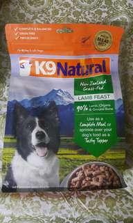 K9 狗糧--羊肉味 500g (每包)