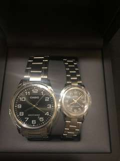Casio Watch (His and Hers)