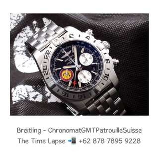 Breitling - Chronomat GMT B04 'Patrouille Suisse' Limited Edition