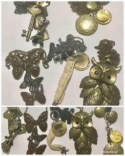 Vintage necklaces (set of 5)