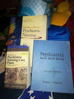 Psychiatric Health Nursing Bundle