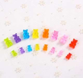 Gummy Bear Slime Charms