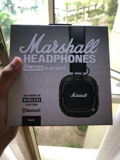 BNIB Marshall Major II Bluetooth