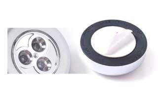 全新 多用途LED拍拍燈 黑色 汽車用 家居小夜燈 超光 100%new