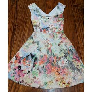 Zara Floral Party Dress