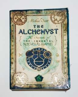 "The Alchemist ""The Secrets of The Immortal"" by Nicholas Flamel"