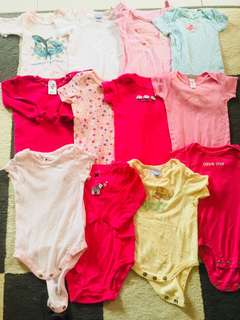 Combo babygirl rompers