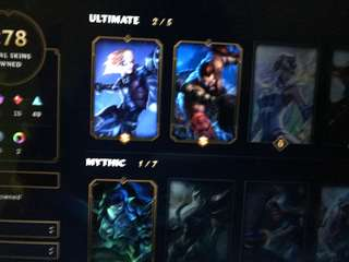 League Of Legends Account * with soulstealer vayne*