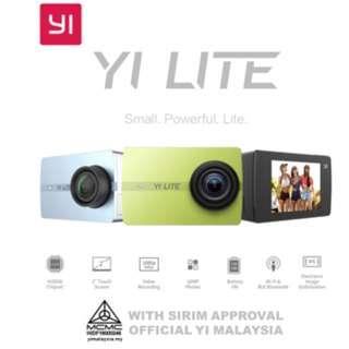 YI LITE Action Camera + Waterproof Case
