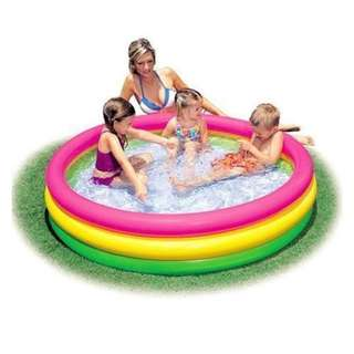 Circular Outdoor Inflatable Swimming Kiddie Pool