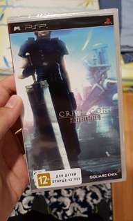 Final Fantasy 7 : Crisis Core UMD Sealed