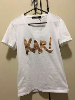 New genuine Karl Lagerfeld tshirt