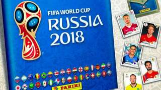 Panini world cup 2018 sticker update set