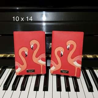 Kate Spade Passport Case Flamingo