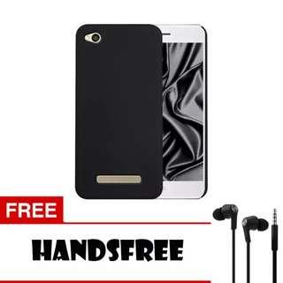Case Slim Black Matte Xiaomi Redmi 4A Softcase Black