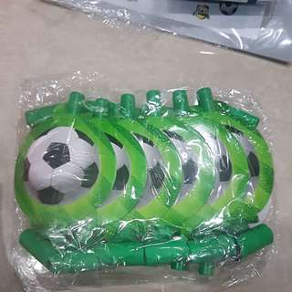 Soccer Themed Party Blowers