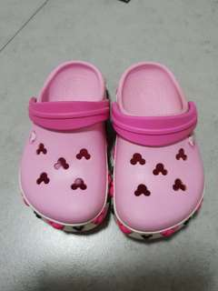 Crocs Pink Mickey Mouse