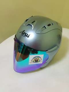 0406***TSR RAM4 Convert ARAI Helmet For Sale 😁😁Thanks To All My Buyer Support 🐇🐇 Yamaha, Honda, Suzuki