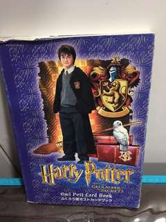 NEW AND NEVER USED! Official Harry Potter and the Chamber Of Secrets Movie Merchandise Owl Post Card Book