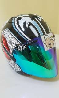 0406***TSR RAM4 Convert ARAI NAKANO Helmet For Sale 😁😁Thanks To All My Buyer Support 🐇🐇 Yamaha, Honda, Suzuki