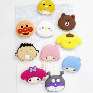 CHARACTER PAPER CLIP *PLASTIC*CARTOON*CUTE*FANCY*ORGANISE*STATIONERY*
