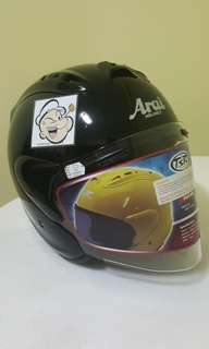 0406***TSR RAM4 Convert ARAI Helmet For Sale 😁😁Thanks To All My Buyer Support 🐇🐇 Yamaha, Honda, Suzuki