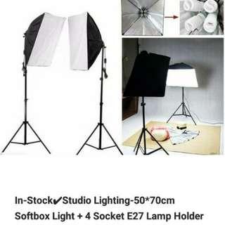 Softbox Kit Light Stand