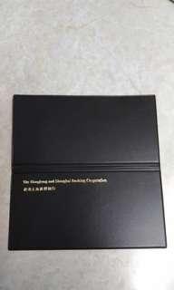 滙豐銀行支票簿套
