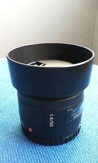 Sony 50 F1.4