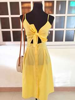 Bow summer dress