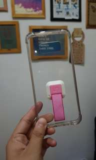 S8 Clear case with handle