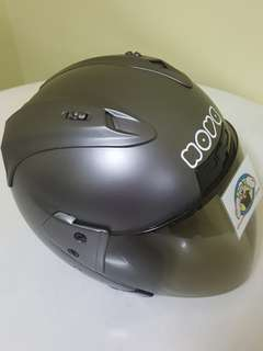 0406*** Nova GUNMETAL grey Helmet For Sale 😁😁Thanks To All My Buyer Support 🐇🐇 Yamaha, Honda, Suzuki