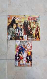 "Justice League of America Vol 2 (DC Comics 3 Issues; #8 & 9 storyline on ""Lightning Saga"" plus ""Wedding Special- Gate Crashers"")"