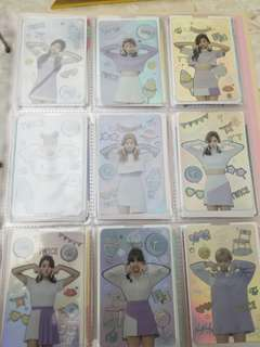 Twice TT閃卡 set