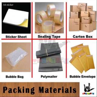 *Lowest* Office Supplies Packing Material | Polymailer | Packing Boxes | Sticker Sheet