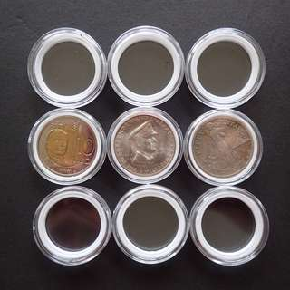 34mm Coin Capsules with EVA pads (with wholesale price)