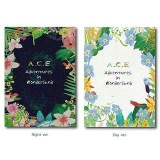 A.C.E ADVENTURES IN WONDERLAND ALBUM