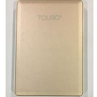 HGST Touro S 1TB 7200RPM High-Performance Portable Drive, Gold (0S03753)