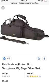 Alto Saxophone Soft Case Protec Gig Bag