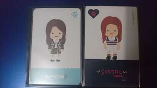 Twice Nayeon Toon Photocards
