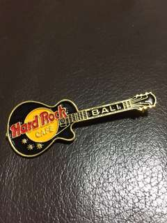 Hard Rock Cafe Bali Guitar Pin