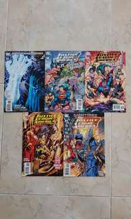 "Justice League of America Vol 2 (DC Comics 5 Issues; #17 to 21, complete story arc on ""Sanctuary"")"