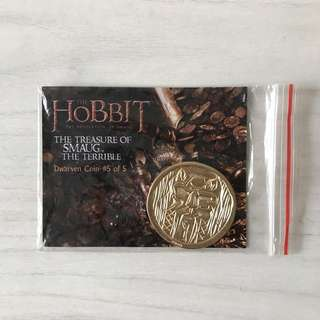 NEW LOTR HOBBIT COIN COLLECTIBLE