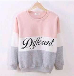 Pink knit Sweater